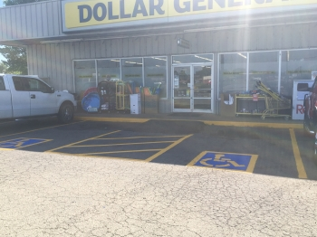 Hot Asphalt Patches & Striping Dollar General - Sallisaw OK