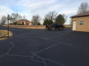 Completed Parking Lot SealCoating