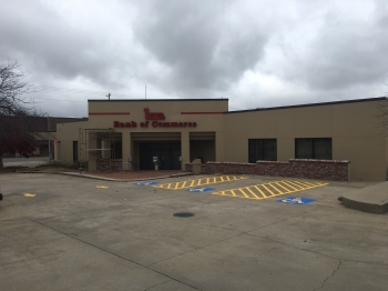 Bank of Commerce Parking Lot Striping - Stilwell OK
