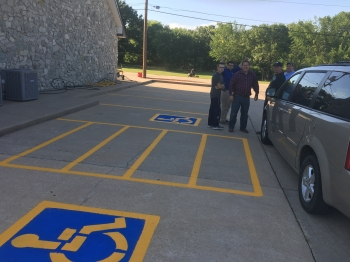 Church Parking Lot Striping - Bartlesville OK