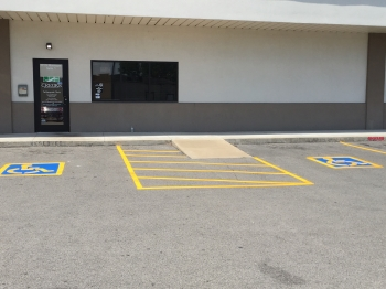 Medical Office Parking Lot Striping - Tahlequah OK