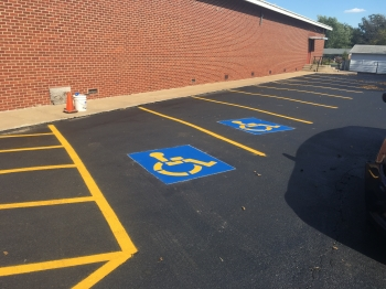 Parking Lot Sealcoating & Striping - Checotah OK