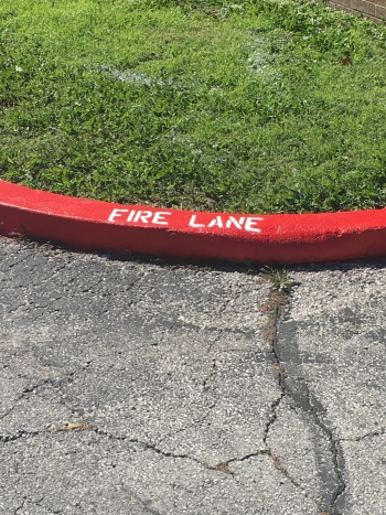 Housing Authority Fire Lane Curbs & Striping - Tulsa OK